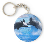 Whale Photo Keychain